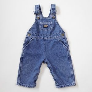 Vintage OshKosh B'Gosh Blue Jean Denim Overalls